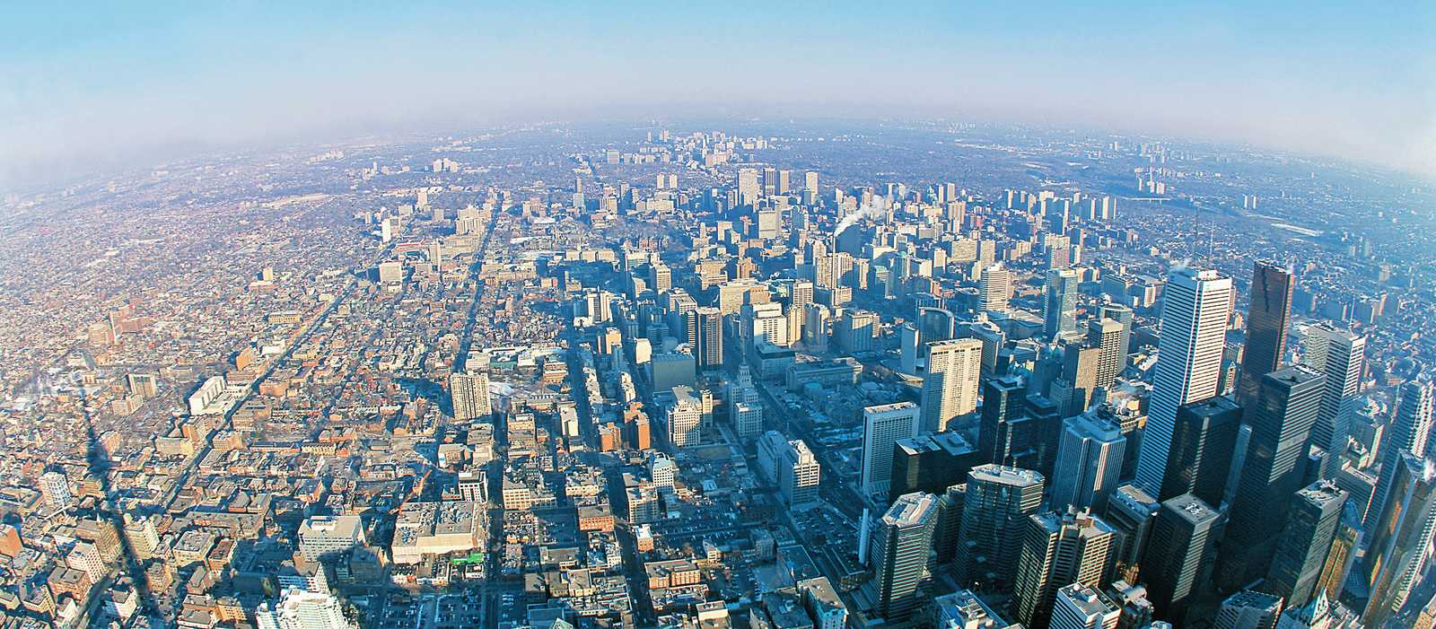 Blick ueber Toronto