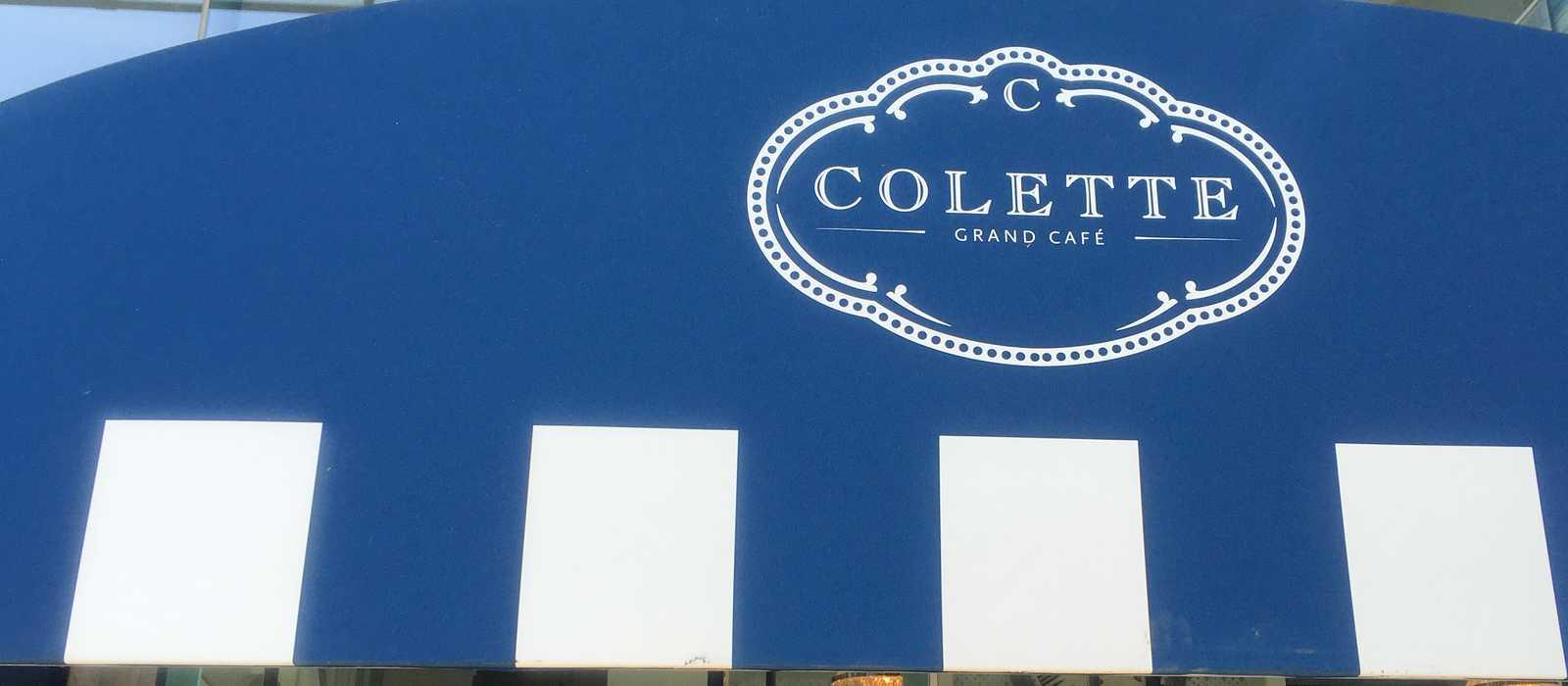 Eingang zum Colette Grand Café