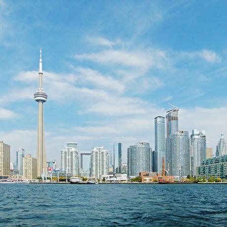 Die Harbourfront von Toronto