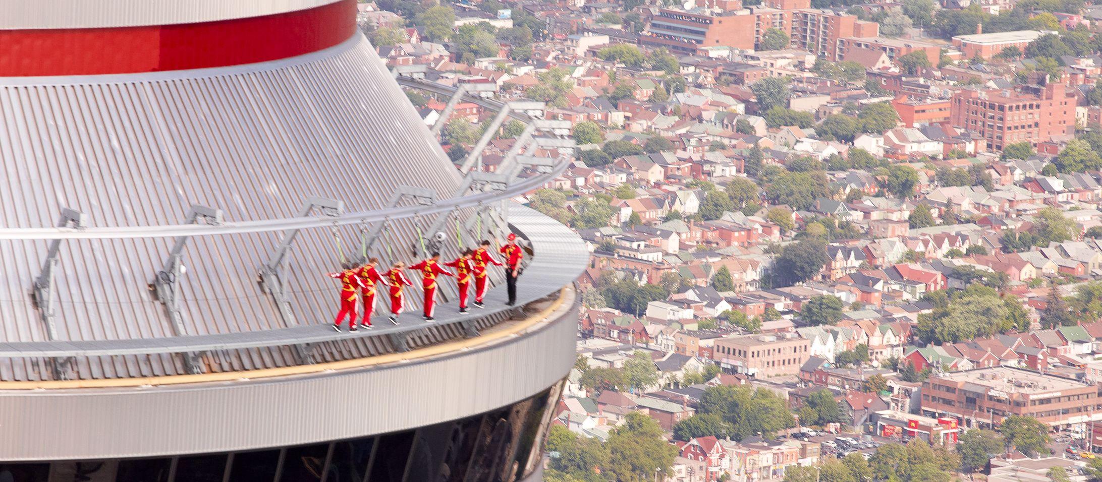 Edgewalk auf dem CN-Tower