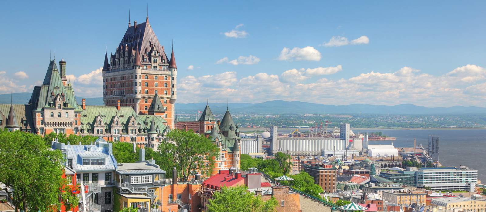 Chateau Frontenac, Old Quebec City