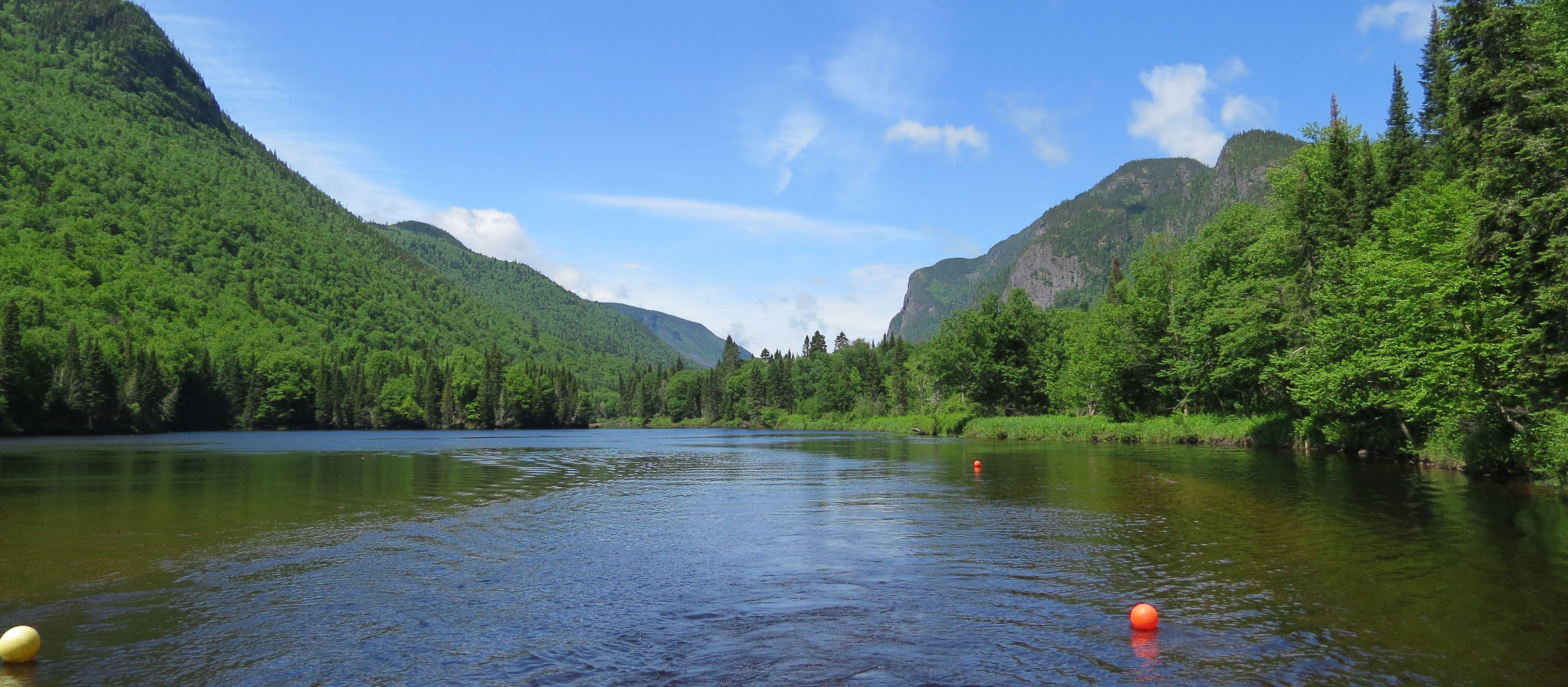 Der Malbaie Fluss