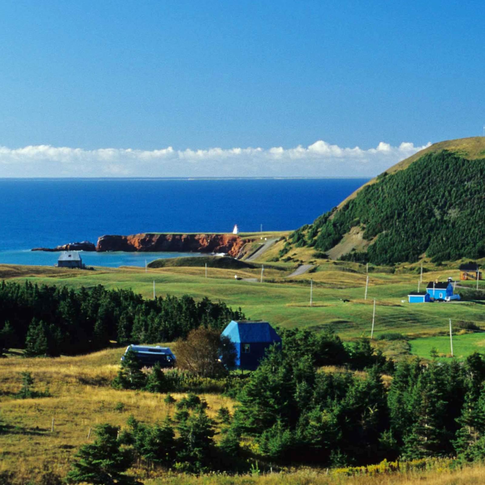 Landschaft auf den Iles de la Madeleine