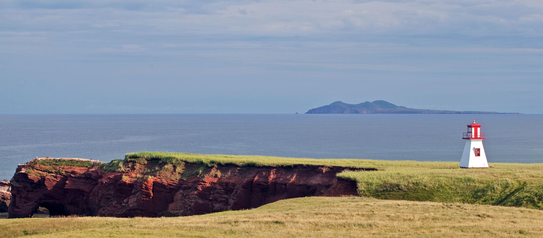 Leuchtturm auf den Iles de la Madeleine