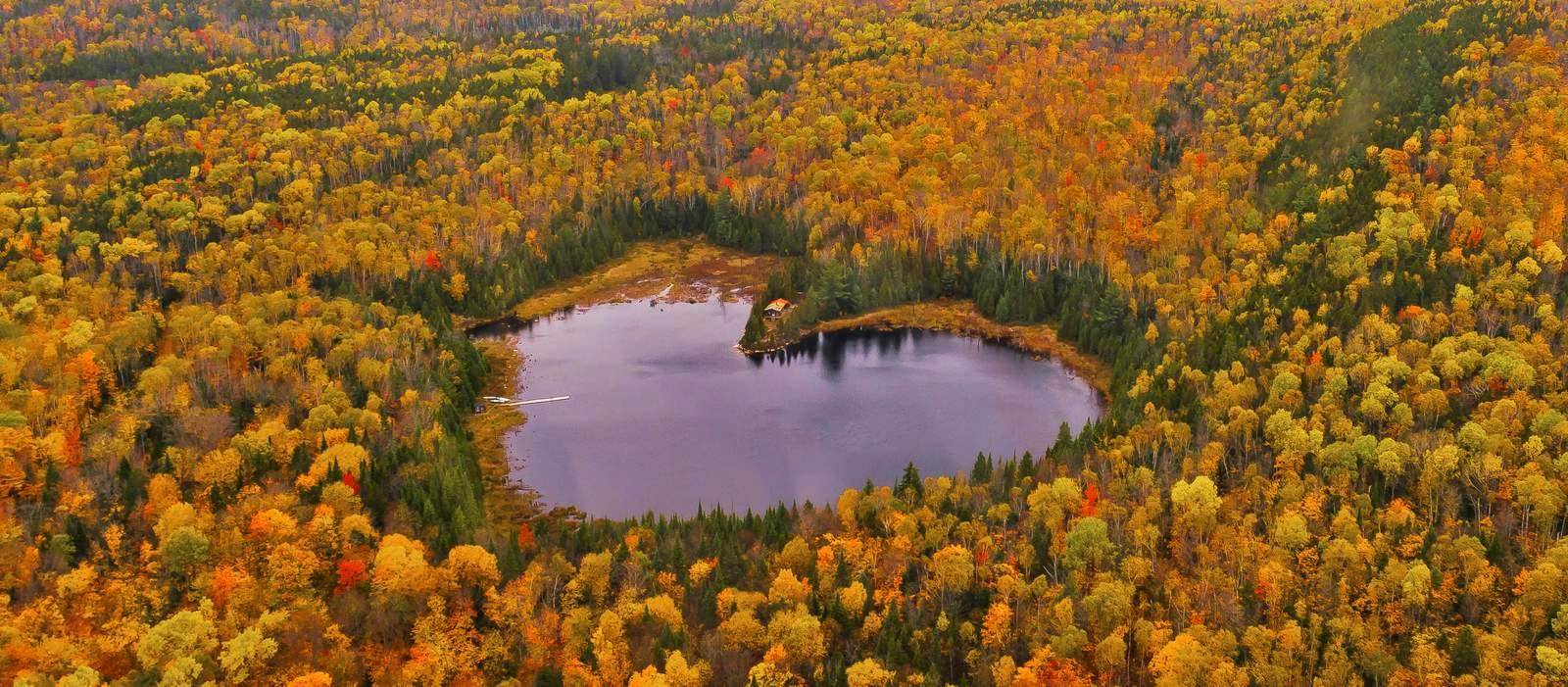 Heart Lake im La Mauricie National Park, Quebec