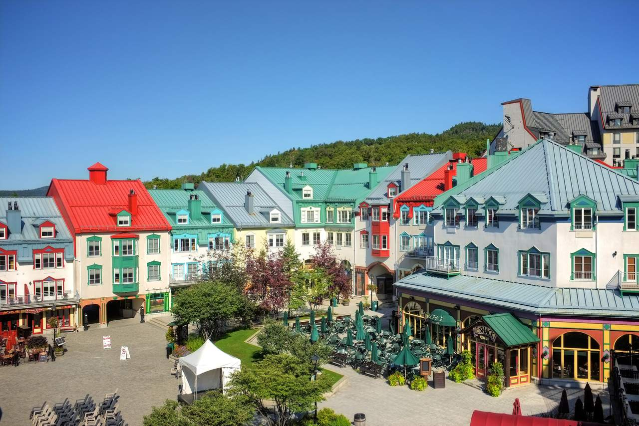 Place Saint Bernard in Mont Tremblant