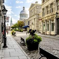 Altstadt in Montreal, Quebec