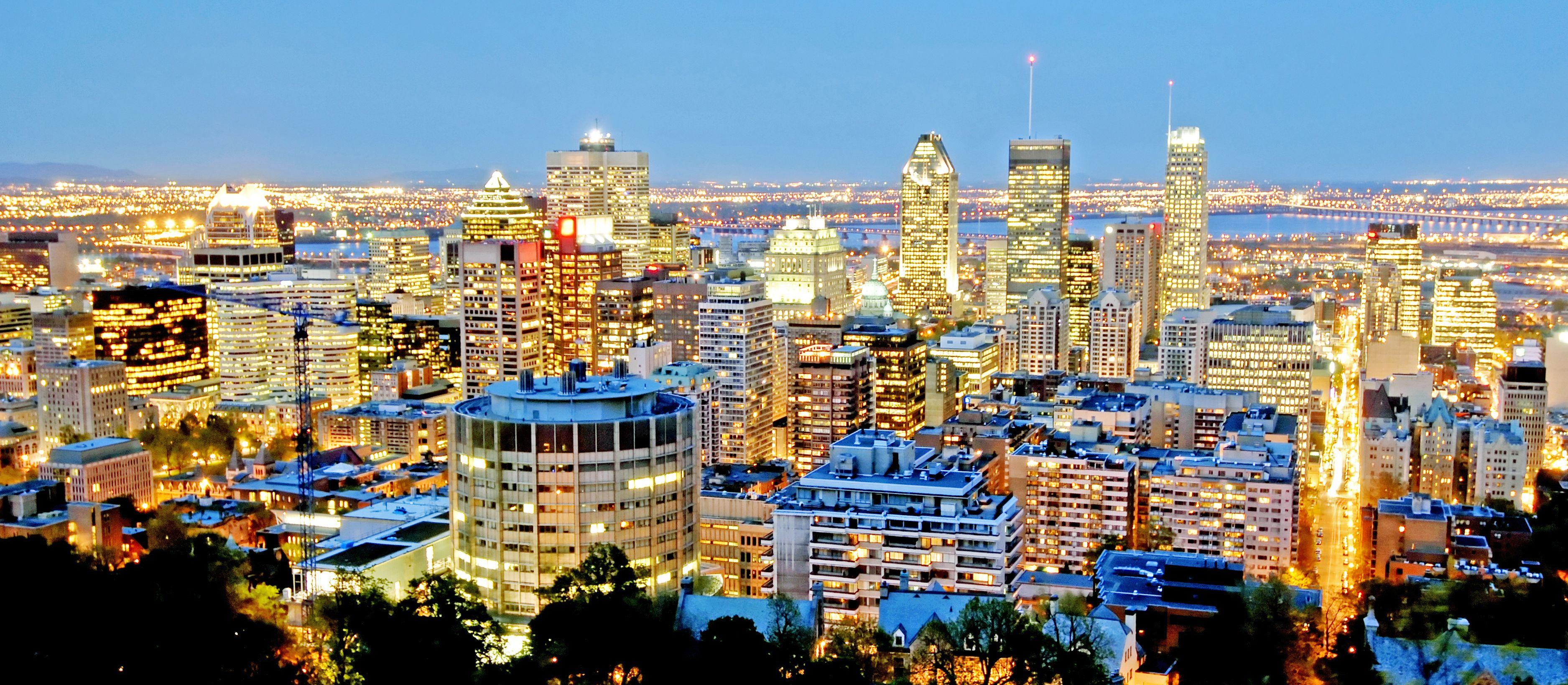 Der Blick über Montreal