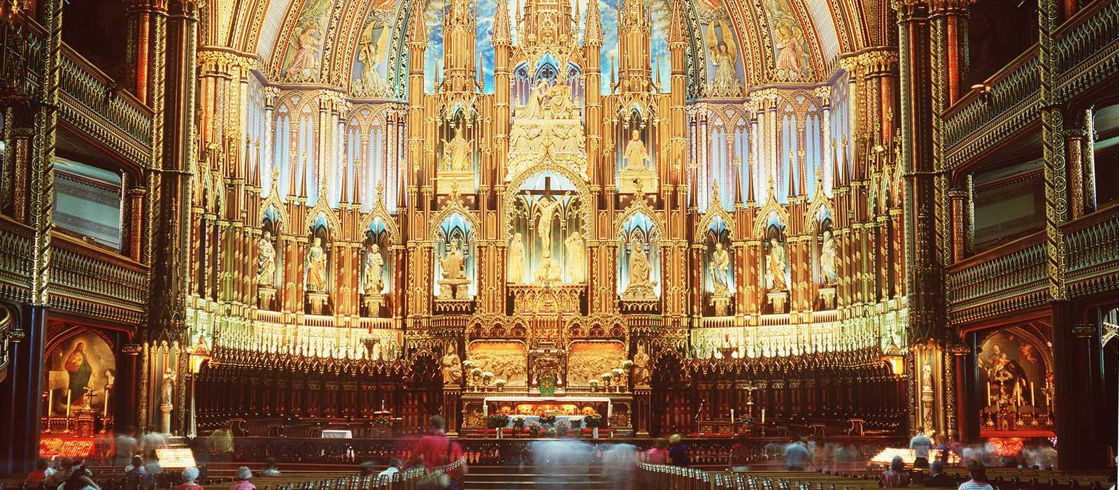 Innenansicht der Basilica