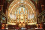 Das Basilique Notre-Dame in Montréal von Innen