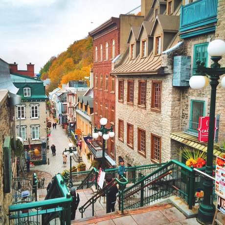 Petit Champlain in Quebec