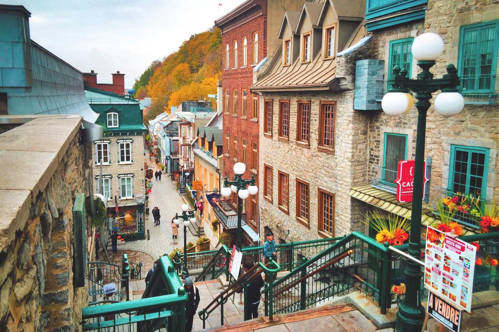 Petit Champlain in Quebec