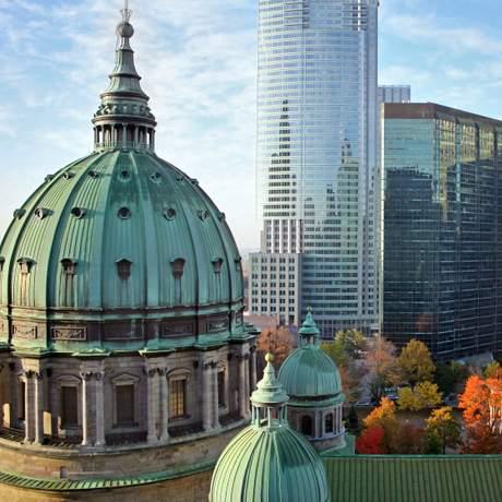 Im Zentrum von Montreal
