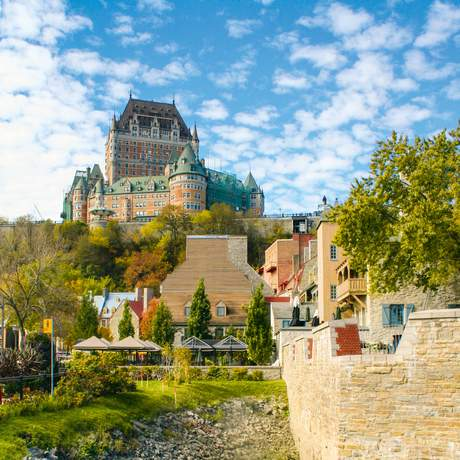 Québec City Chateau