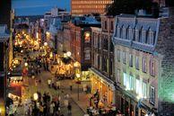 Die Innenstadt Québec City