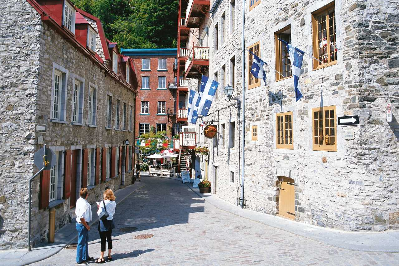 Quebec City Place Royal