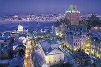 Die Altstadt von Quebec