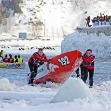 Winterfestival in Quebec
