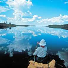 Kanutour im Norden Saskatchewans