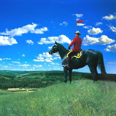 RCMP im Fort Walsh National Historic Site, Saskatchewan