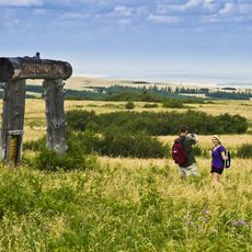 Wandern im Cypress Hills Interprovincial Park, Saskatchewan
