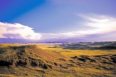 Grassland National Park, Manitoba