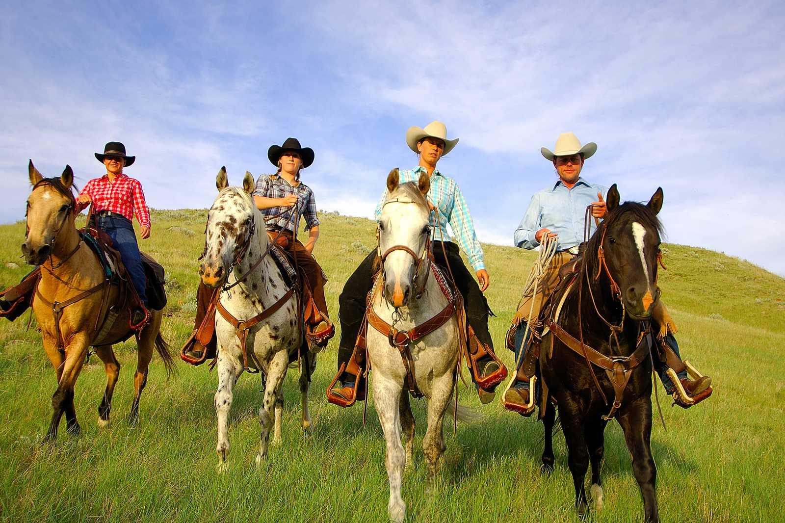 Reitausflug auf der La Reata Ranch