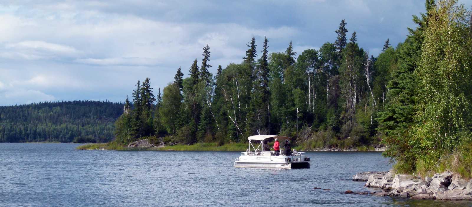 Angelausflug auf dem Otter Lake