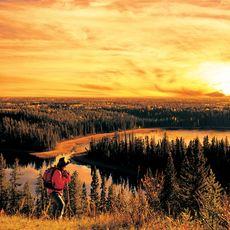 Wanderer im Narrow Hills Provincial Park