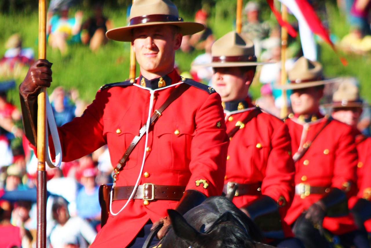 Musical Ride der RCMP in Regina