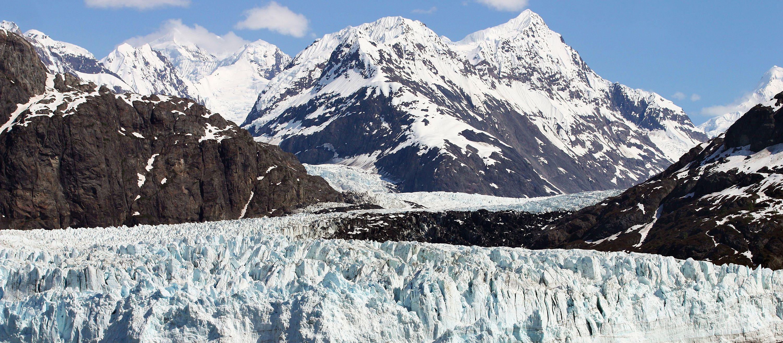 Die beeindruckende Bucht im Glacier Bay Nationalpark