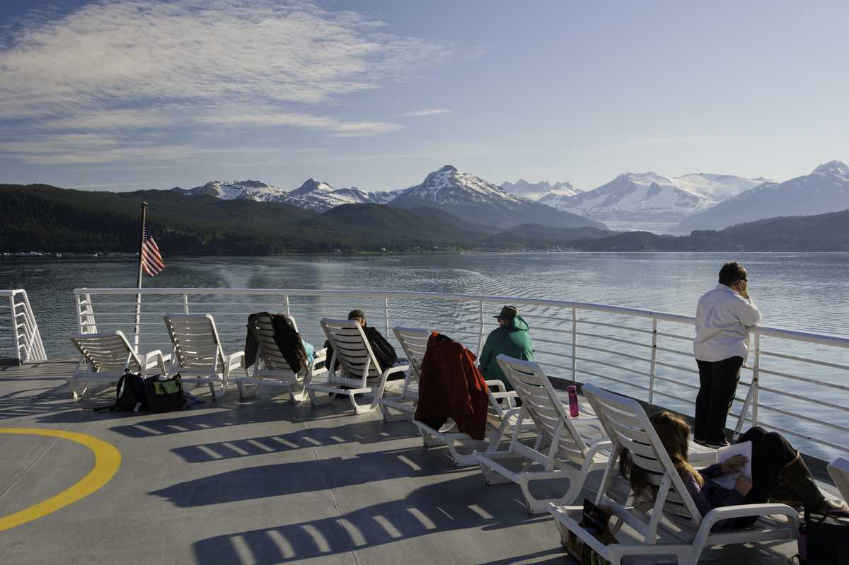 Passengers from Juneau to Haines