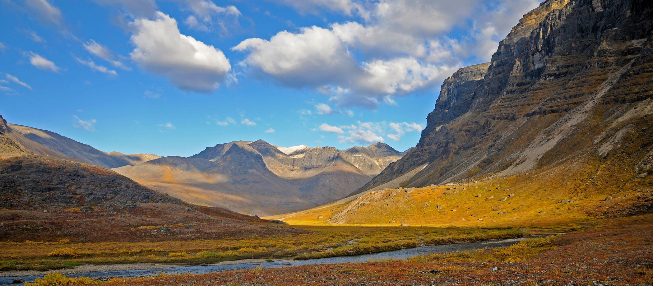 Gates of the Arctic Nationalpark: Berglandschaft