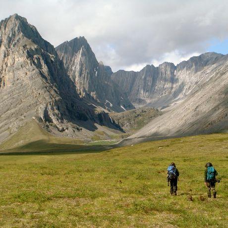 Gates of the Arctic Nationalpark: Wanderer