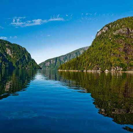 Alaskas fabelhafte Landschaft
