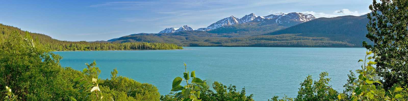 Weite in Alaska