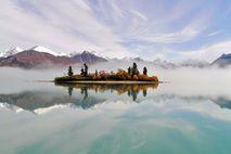 Alaska Nationalparks: Insel im Telaquana Lake
