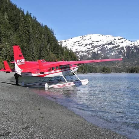 Flugzeug von Rust's Flying Service