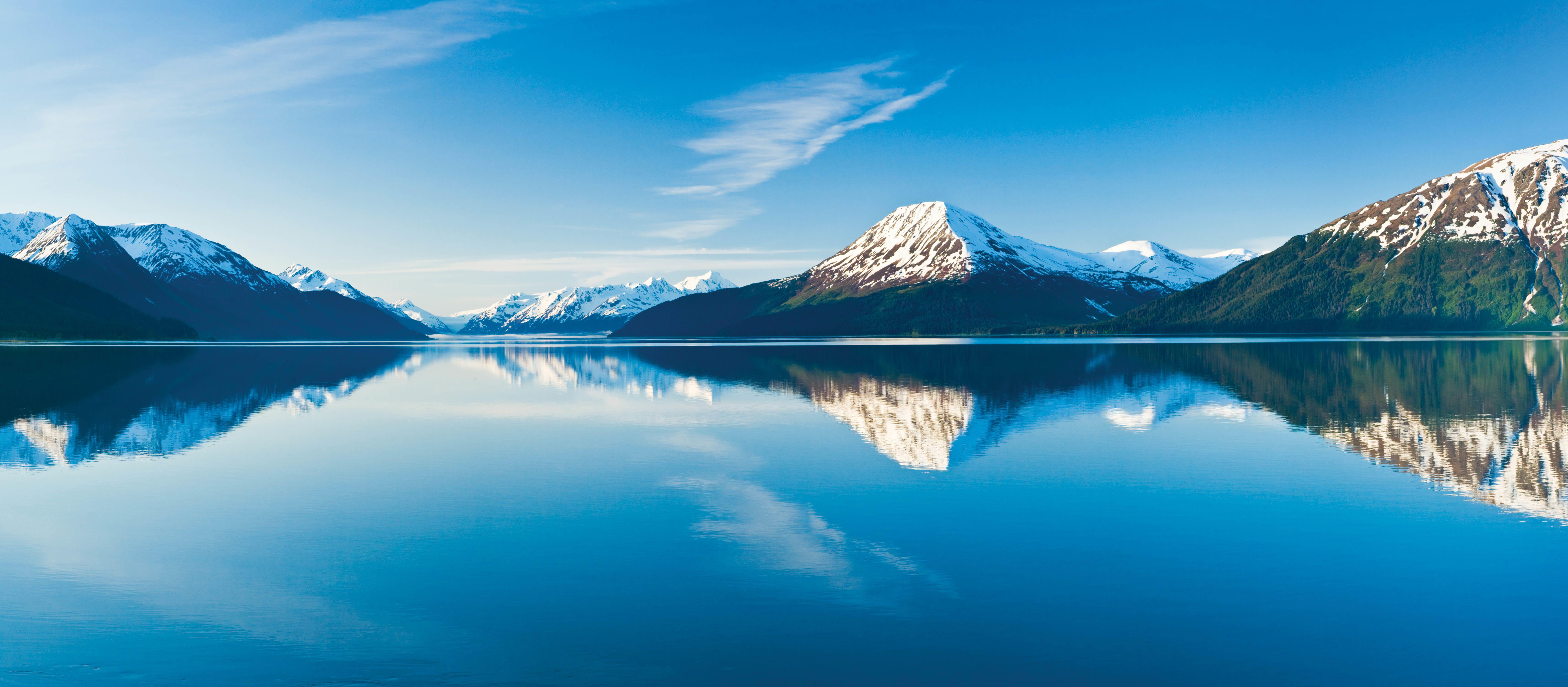 Kenai Mountains in Alaska
