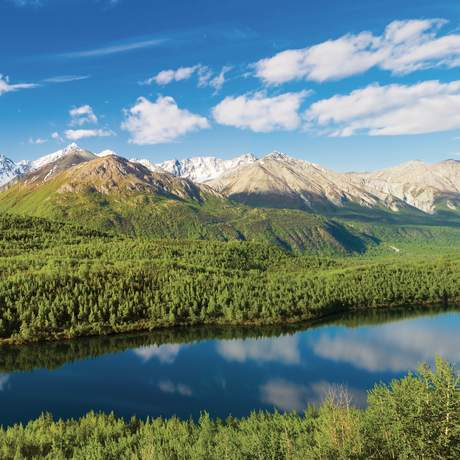 Chugach National Forest in Alaska
