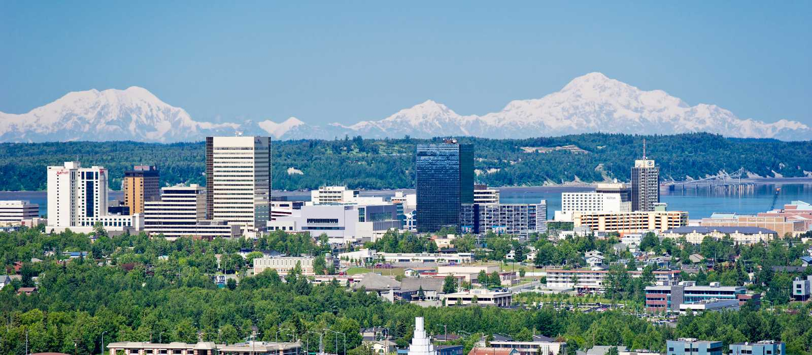 Skyline von Anchorage
