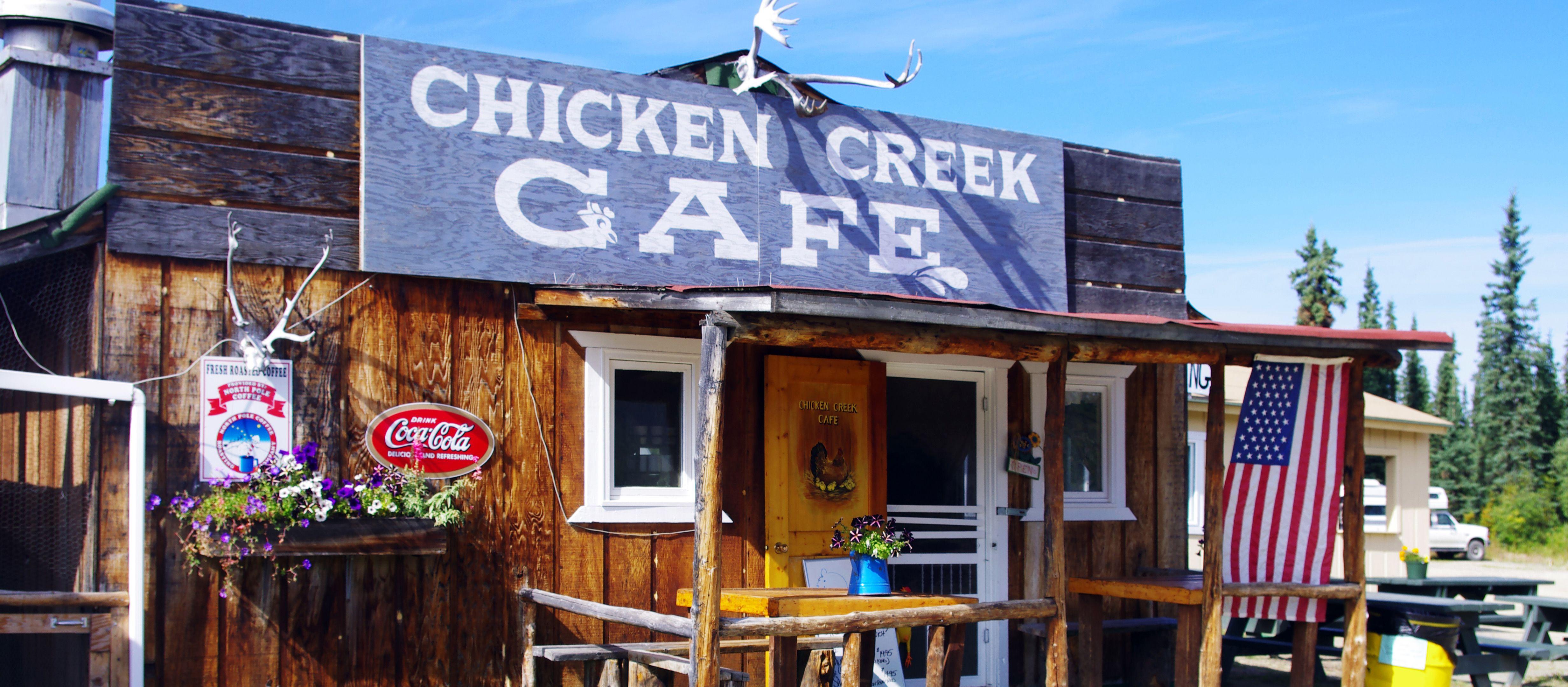Goldwaschen in Chicken