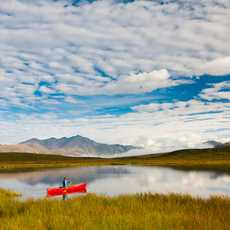 Denali National Park: Kanu auf den Tangle Lakes