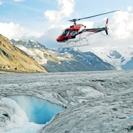 Helikopter im Denali National Park