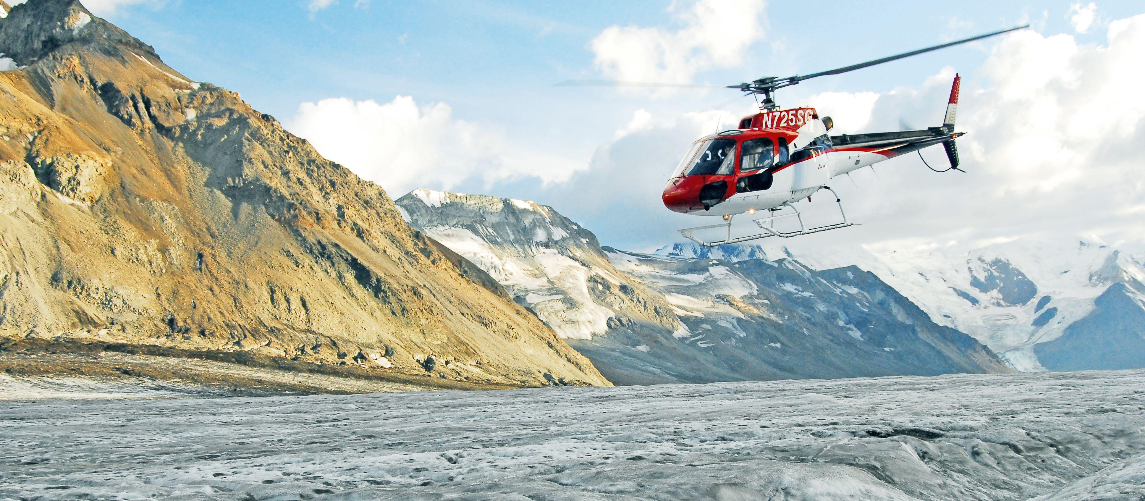 Helikopter Rundflug am Denali Gletscher