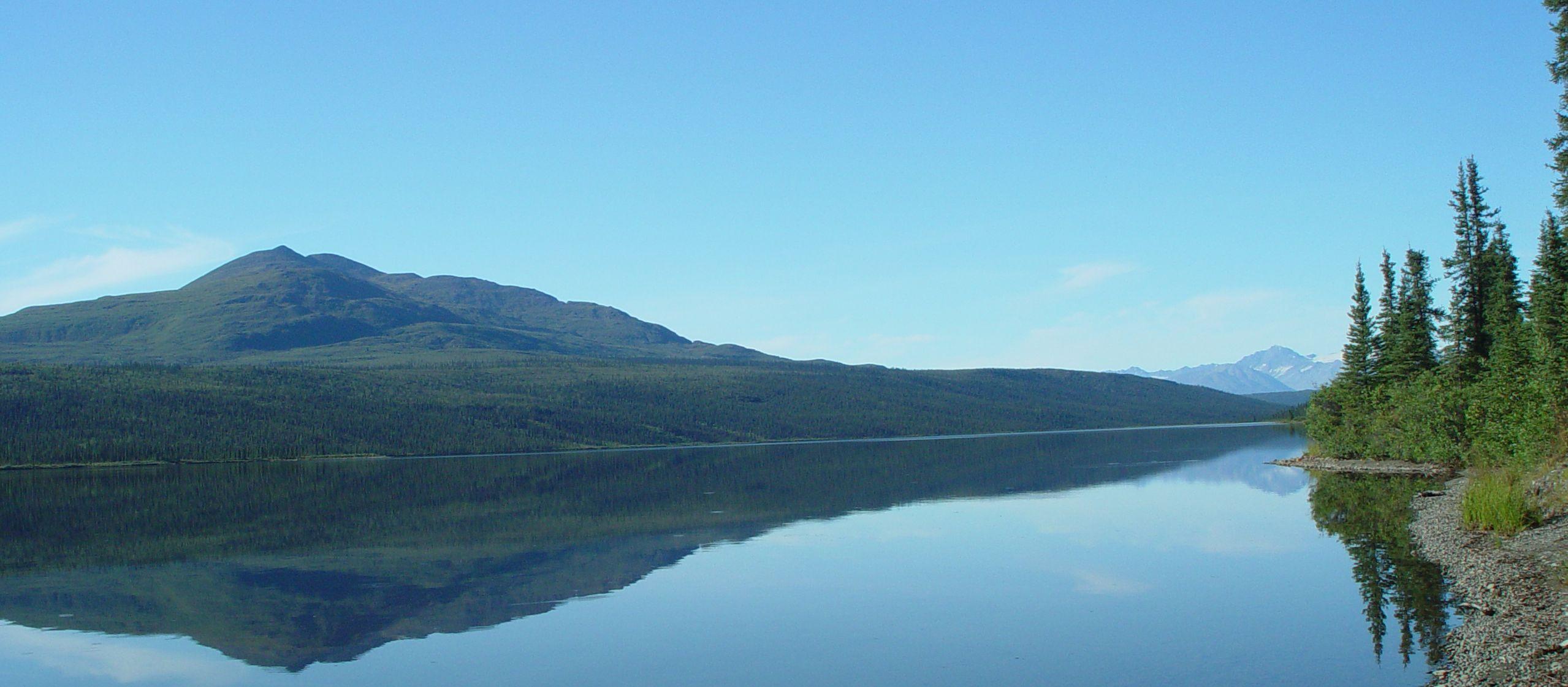 Paxson Lake in Alaska