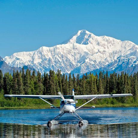 Wasserflugzeug im Denali National Park