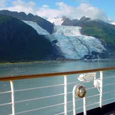 Kreuzfahrt in der Glacier Bay, Alaska
