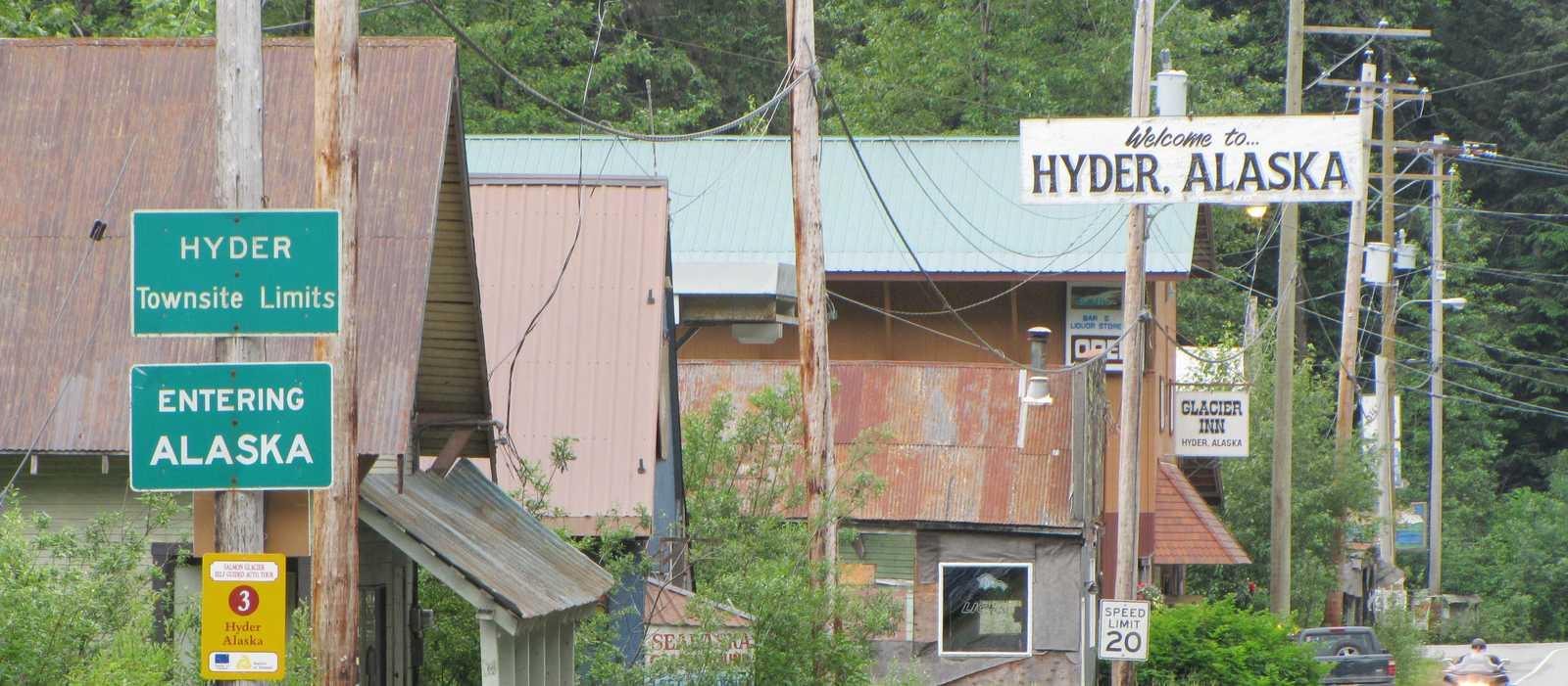 Hyder in Alaska