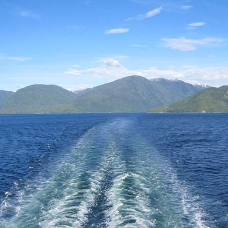 Mit einer Fähre durch die Inside Passage, British Columbia/Alaska